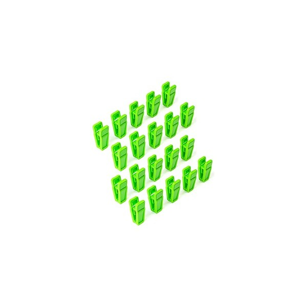Childrens Slim-Line Small Finger Clips Set of 20 - Plastic ...